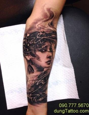 hinh xam girl co gai theo chau au tattoo tai dung 0907775670