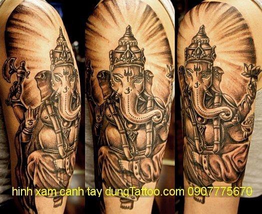 hinh xam than voi may man an do tai dung 0907775670