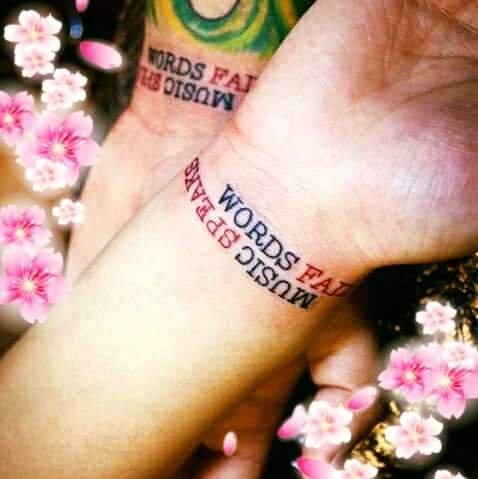Hình xăm chữ cổ tay đẹp cặp đôi -thực hiện tại dũng 0907775670