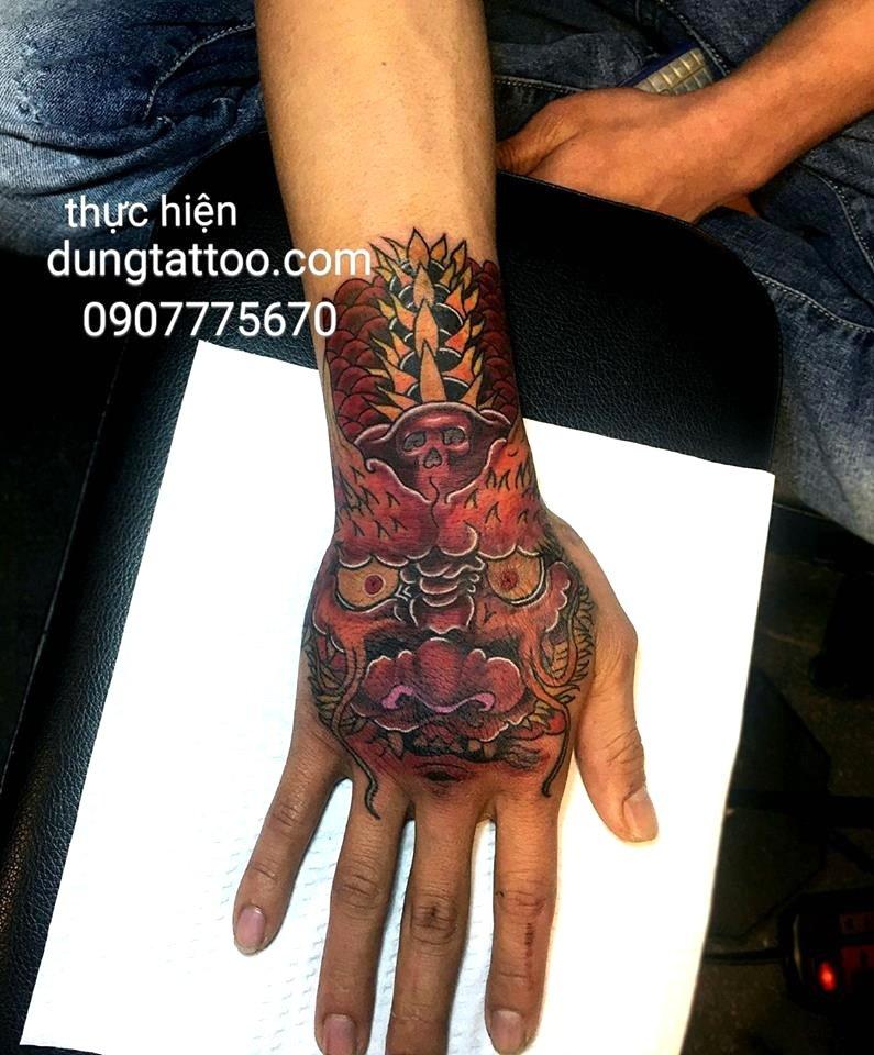 Hình xăm nghệ thuật dũng tattoo ( dungtattoo.com) thực hiện 1