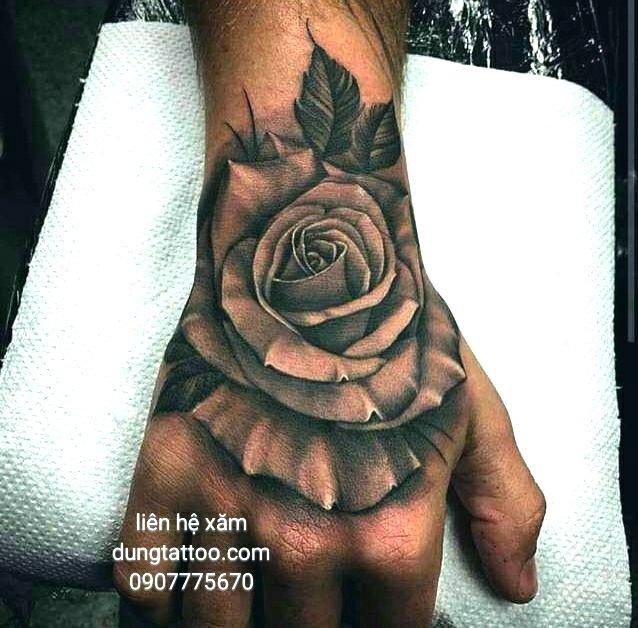 Hình xăm nghệ thuật dũng tattoo ( dungtattoo.com) thực hiện 2