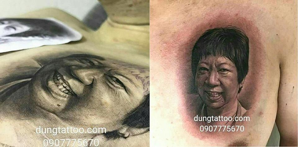 Hình xăm nghệ thuật dũng tattoo ( dungtattoo.com) thực hiện 5