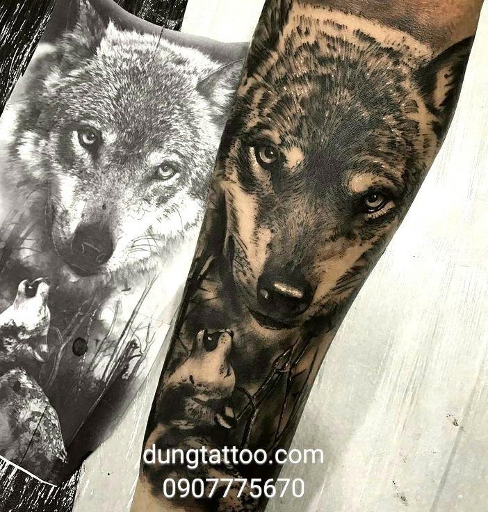 Hình xăm nghệ thuật dũng tattoo ( dungtattoo.com) thực hiện 6