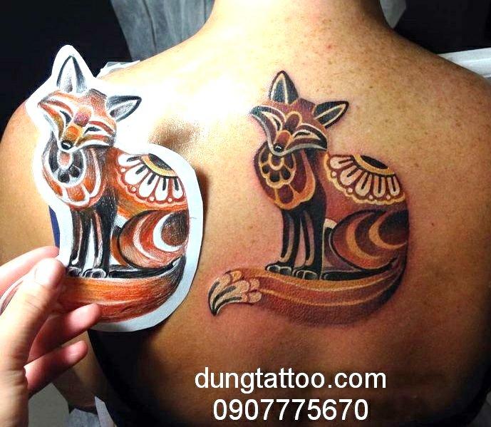 Hình xăm nghệ thuật dũng tattoo ( dungtattoo.com) thực hiện 7