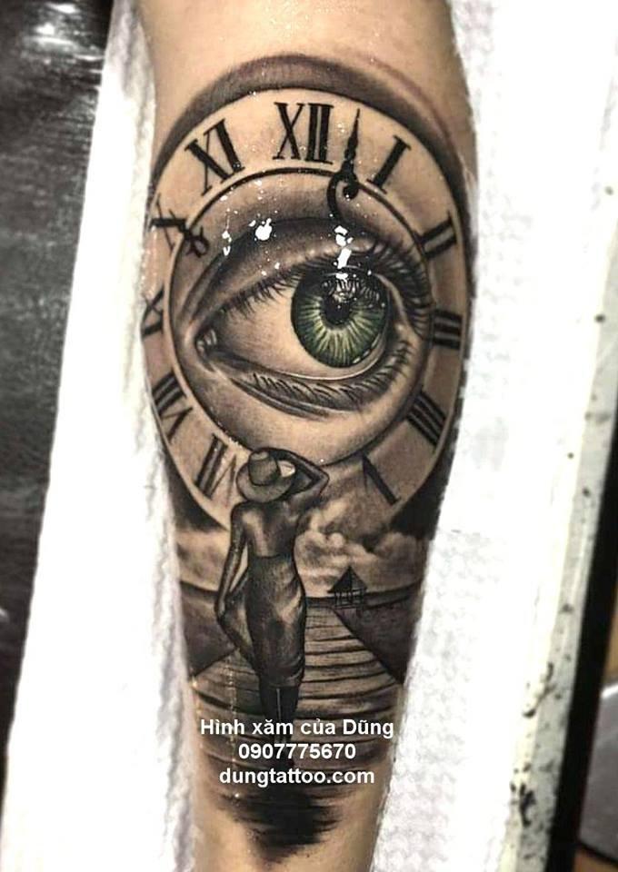 Hình xăm nghệ thuật dũng tattoo ( dungtattoo.com) thực hiện 12