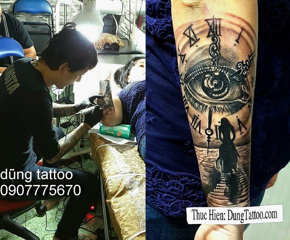 Hình xăm nghệ thuật dũng tattoo ( dungtattoo.com) thực hiện 15