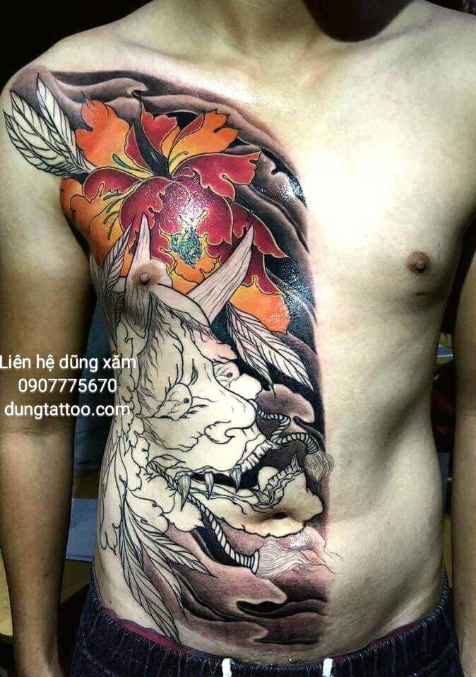 Hình xăm nghệ thuật dũng tattoo ( dungtattoo.com) thực hiện 18