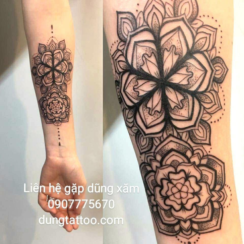 Hình xăm nghệ thuật dũng tattoo ( dungtattoo.com) thực hiện 20