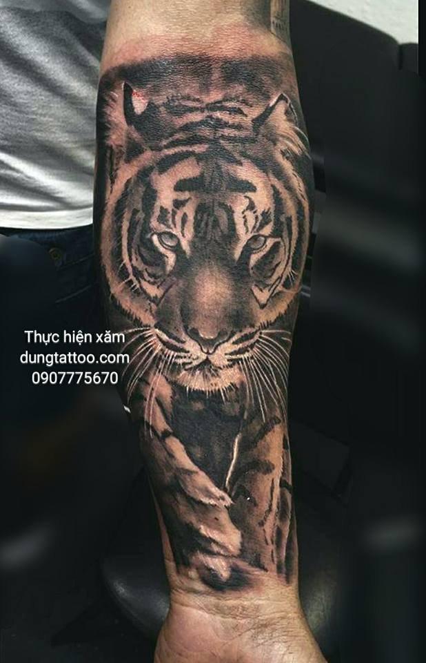 Hình xăm nghệ thuật dũng tattoo ( dungtattoo.com) thực hiện 23
