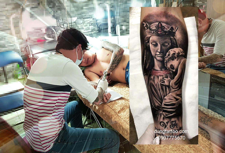 gia hinh xam dep nghe thuat 3d tiem tp hcm tattoo tatoo